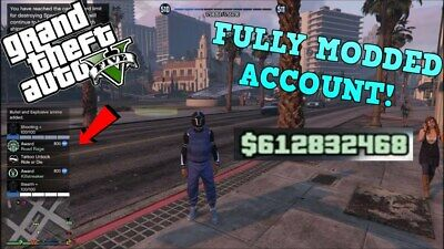 GTA 5 Modded Account  SERVICE PC *PC ONLY* *UNDETECTED*