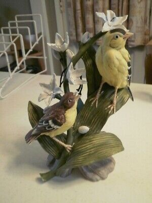 Goto Originals Gold Finch Figurine