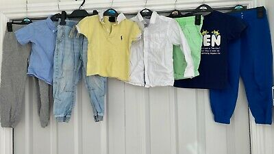 Boys summer clothes bundle 2-4 Years Polo Ralph Lauren H&M Goerge Uniqlo