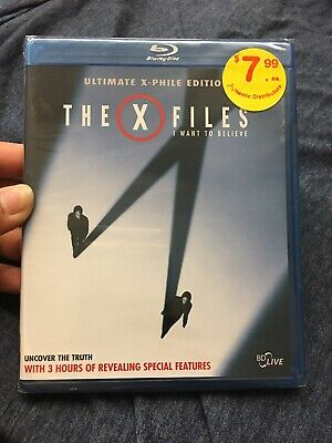 The X-FILES I WANT to BELIEVE (2008) Blu-ray Two-Disc Ultimate X-Phile Edition