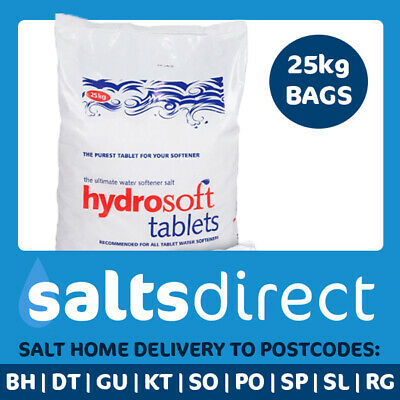 Hydrosoft Tablet Water Softener Salt 20x 25kg Bags - Free Delivery to 5 Counties