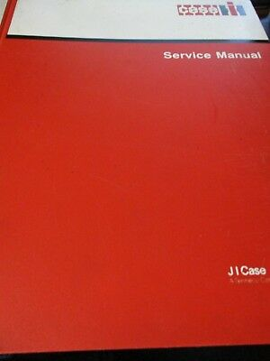 Case IH 6000, 6500 Windrowers Service Manual 1986