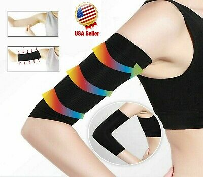 Slimming Arms Compression Sleeves Workout Toning Burn Cellulite Shaper