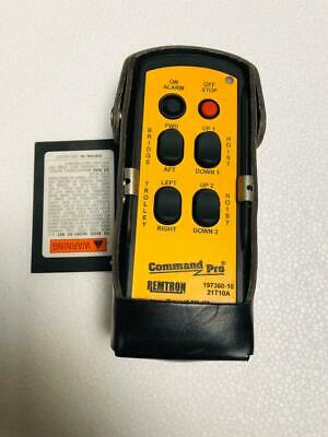 Remtron 21T10A Command Pro Handheld Transmitter Crane Remote Control New