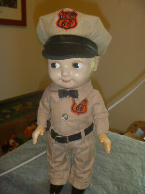Rare Buddy Lee Doll from Employee of Phillips 66 1950's In Excellent Condition