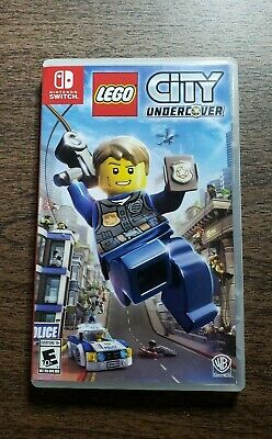 LEGO City Undercover - Nintendo Switch with Case