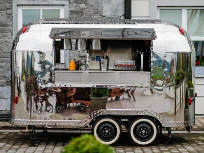 HY Mobile Catering Style Trailer Food Truck, Exhibition, coffee