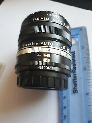 Autoteleplus Camera Lens - Vintage, With Leather, Velvet Lined Case
