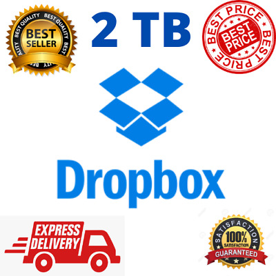 2TB Dropbox Premium Account - Lifetime ✔️ Custom Email ⭐  Instant delivery ✔️