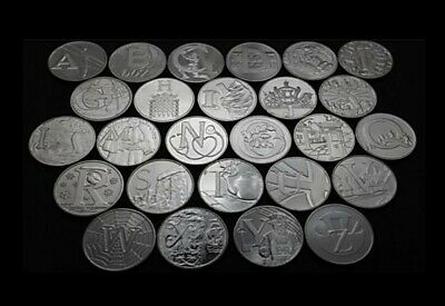 2019 Alphabet 10p A-Z Great British Coin Hunt - Uncirculated - ROYAL MINT