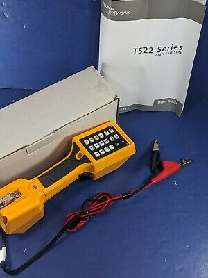 New Fluke TS22A Test Set with ABN