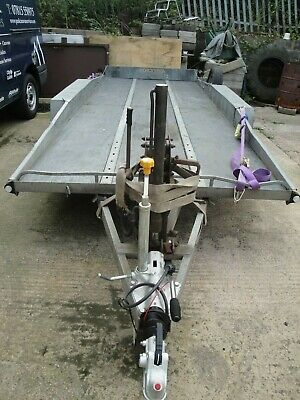 BATESON TILT BED CAR TRANSPORTING TRAILER with WINCH