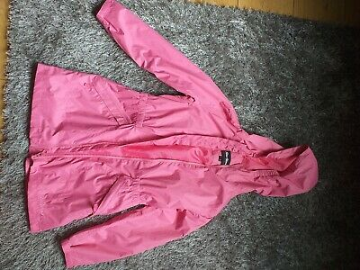 Girls Peter Storm Pink Jacket 7/8 Years