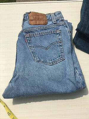 Vintage Levi's 501 USA Made Jeans  28 X 31 1/2  Women View Payment