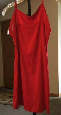 Women's Red Negligee Lingerie Size 6 Petite Preowned