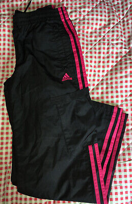 Adidas Shell Tracksuit Trousers Age 11-12 Years