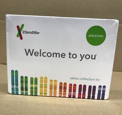 23AndMe Ancestry Personal Genetic Service PrePaid Saliva Collection Kit DNA Test