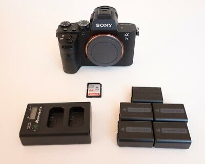 Sony Alpha A7 II 24.3MP Digital Camera with Extras
