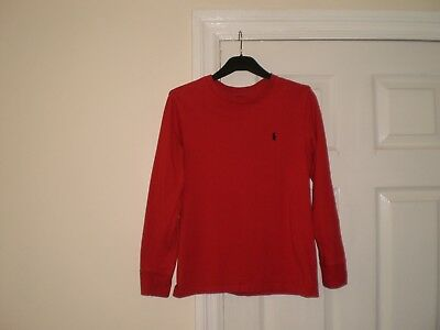 """T-Shirts """"Polo  Ralph Lauren""""Red  Colour  Size:10/12 Years (UK) M  Used"""