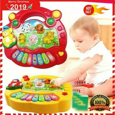 Baby Einstein Musical Toys for Infant Toddlers Electronic Learning Educational Toys for Fun Playing Birthday Gift for Children 0-24 Month BPA Free LotFancy with Music and Animals Sounds