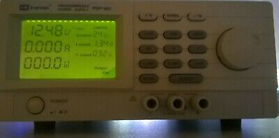 GW Instek PSP-603 LCD Display Programmable Switching DC Power Supply - 0-60Volts