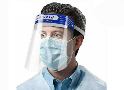 Safety Full Face Shield Clear Protector Work Medical Dental, Standard Size 1 pc