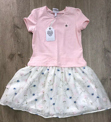Le Chic Girls Pink Dress Age9/10 Yrs BNWT RRP £56 ❌❌