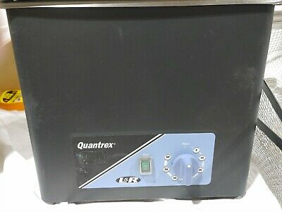 L&R Quantrex 210h Ultrasonic Cleaner  With Heater 2 baskets & lid