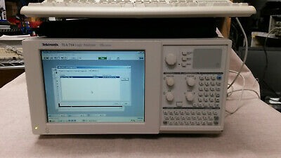 TEKTRONIX TLA714 LOGIC ANALYZER WINDOWS 2000 OS w/TLA7N2