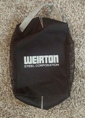 New Weirton Steel Travel Bag Black