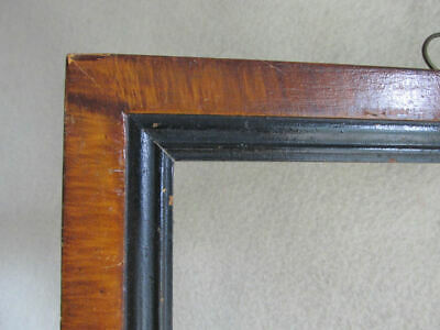 Antique 19th Century Picture Frame Painting, Icon Frame, Grain Painted