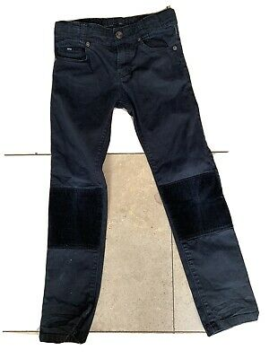 Boys Hugo Boss Black Skinny Fit Jeans Pants Trousers - Age 8