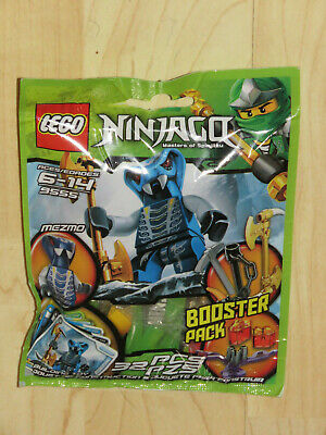 Lego Ninjago Mezmo Booster Pack 9555 New Sealed