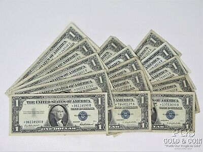 1957 1957-A 1957-B $1 Silver Certificates ALL STAR Notes US Currency $15 16437