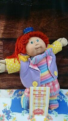 Cabbage Patch Circus Girl, Papers, Red Hair, Double Dimple, 2 Teeth, OK Factory
