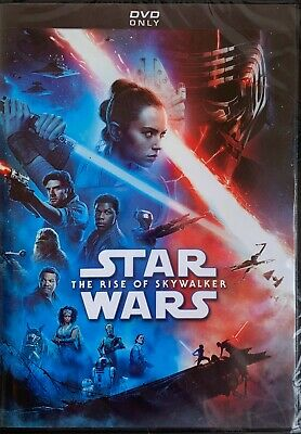 STAR WARS ~ THE RISE OF SKYWALKER   <   DVD   >   *New *Factory Sealed^