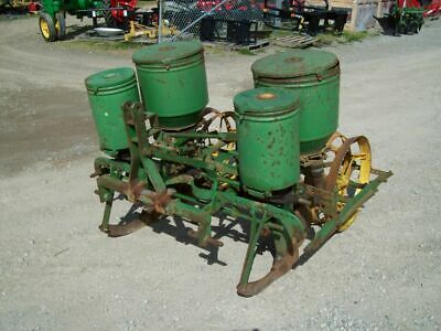 John Deere 3-Point Hitch  2-Row Corn Planter , SELLS NO RESERVE !!