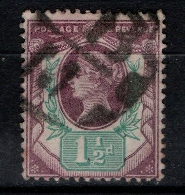 Great Britain GB 1887 1892 Jubilee issue 1½d One and a Half Penny SG198 Used