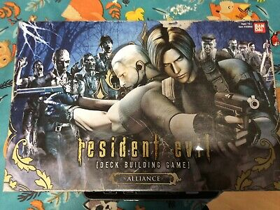 Resident Evil Alliance  Deck Building Game  NEW and SEALED