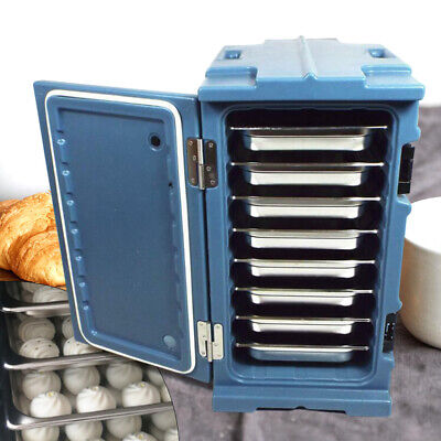 Insulated Food Pan Carrier, 6 Pan Capacity Insulation and cold storage