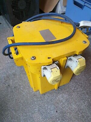 5KVA Transformer 110-Volt Twin Outlet 16-AMP and 1 32 AMP