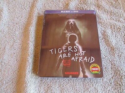 Tigers Are Not Afraid (Blu-ray). Limited Edition Steelbook. Brand New. In-Hand.