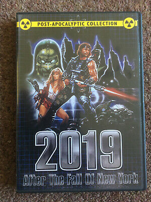 2019 After the Fall of New York (Sergio Martino, 1983) OOP R1 Shriek Show DVD