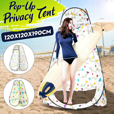 Outdoor Portable Pop Up Changing Clothes Room Toilet Shower Tent Fishing Camping