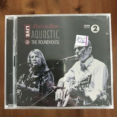 Status Quo - Aquostic - Live At The Roundhouse - Cd Doble Ear Music 2015 Nuevo