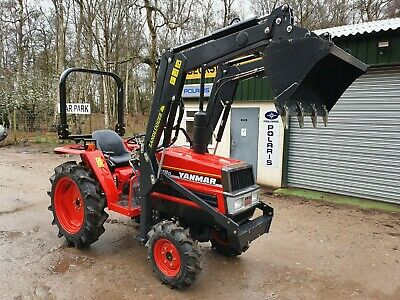 Yanmar Compact Tractor FX18D 4WD with Front Loader 4WD 22HP