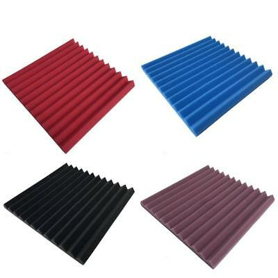 1/12pcs Sound Absorber Acoustic Panels Studio Foam Wedge Soundproofing.