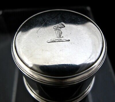 George III silver counter box James Phipps London c1780