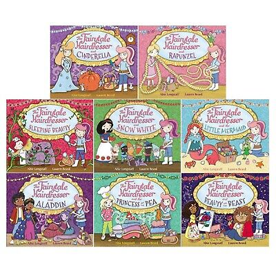 The Fairytale Hairdresser Collection 8 Books Set - Brand New and Sealed