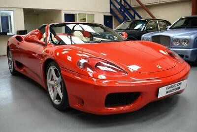 Ferrari 360 Spider, manual, 19,000 miles only